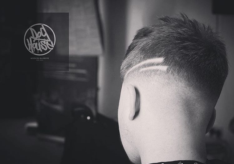Haircut with Lines